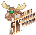 Chocoholic 5K Morsel the Chocolate Moose is our mascot. Adapt to use for Chocolate Festivals